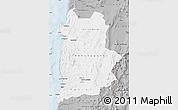 Gray Map of ANTOFAGASTA
