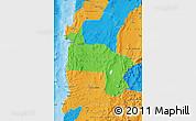 Political Map of ANTOFAGASTA
