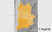 Political Shades Map of ANTOFAGASTA, desaturated