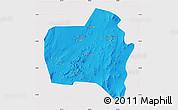 Political Map of Sierra Gorda, cropped outside