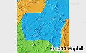 Political Map of Sierra Gorda