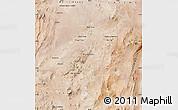 Satellite Map of Sierra Gorda