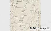 Shaded Relief Map of Sierra Gorda