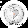 Outline Map of Sierra Gorda