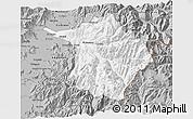 Gray 3D Map of Machali