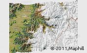 Satellite 3D Map of Machali