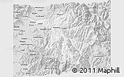 Silver Style 3D Map of Machali