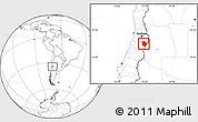 Blank Location Map of Machali
