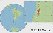 Savanna Style Location Map of Machali