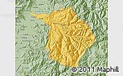 Savanna Style Map of Machali
