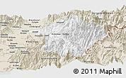 Classic Style Panoramic Map of Machali