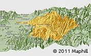 Savanna Style Panoramic Map of Machali