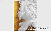 Physical 3D Map of Calama