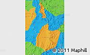 Political Map of EL LOA