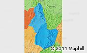 Political Shades Map of EL LOA