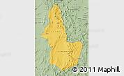 Savanna Style Map of EL LOA