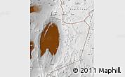 Physical Map of San Pedro de Atacama