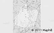 Silver Style Map of San Pedro de Atacama