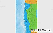 Political Map of Iquique