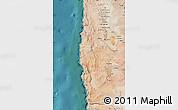 Satellite Map of Iquique