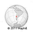 Outline Map of Parral