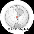 Outline Map of LLANQUIHUE
