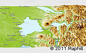 Physical 3D Map of Puerto Varas