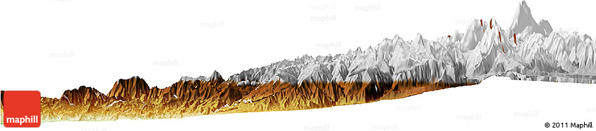 Physical Horizon Map of LOS ANDES