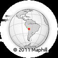 Outline Map of PARINACOTA