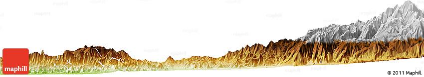 Physical Horizon Map of SANTIAGO