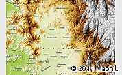 Physical Map of SANTIAGO