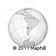Outline Map of SANTIAGO