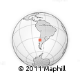 Outline Map of Talca