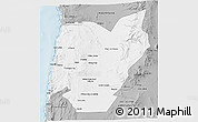Gray 3D Map of TOCOPILLA
