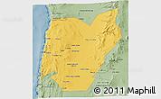 Savanna Style 3D Map of TOCOPILLA