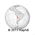 Outline Map of Maria Elena