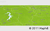 Physical Panoramic Map of Changfeng