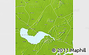 Physical Map of Chao Xian
