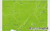 Physical 3D Map of Feidong