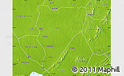 Physical Map of Feidong