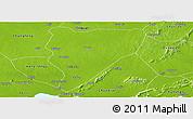 Physical Panoramic Map of Feidong