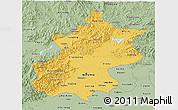 Savanna Style 3D Map of Beijing