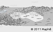 Gray Panoramic Map of Changping