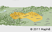Savanna Style Panoramic Map of Changping