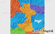 Political Map of Huairou
