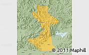 Savanna Style Map of Huairou