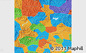Political Map of Beijing
