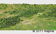 Satellite Panoramic Map of Beijing