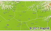 Physical 3D Map of Shunyi