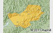 Savanna Style Map of Yanqing